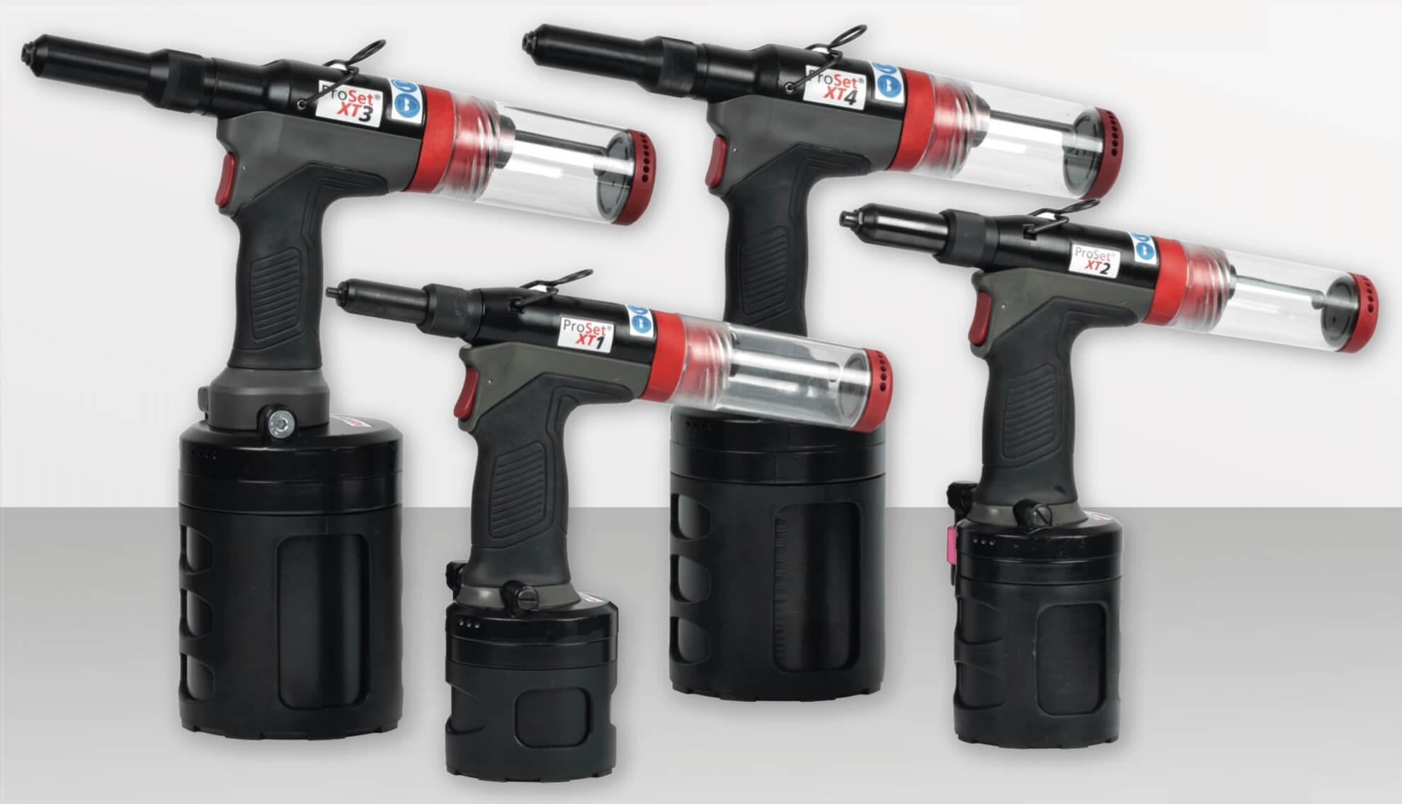 Product Spotlight on POP Avdel ProSet XT Range Rivet Tools