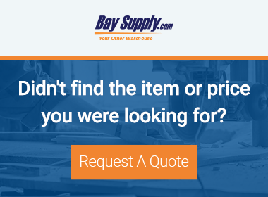 Request a Quote - Bay Supply Blog Sidebar